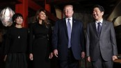 Trump in Japan: Sumo, barbecue and an imperial audience