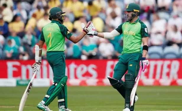 ICC World Cup Warm-up: Match delayed by rain after South Africa make rapid start