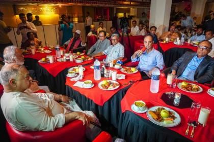 Awami League leader Faruk Khan joins Dr Kamal's iftar party