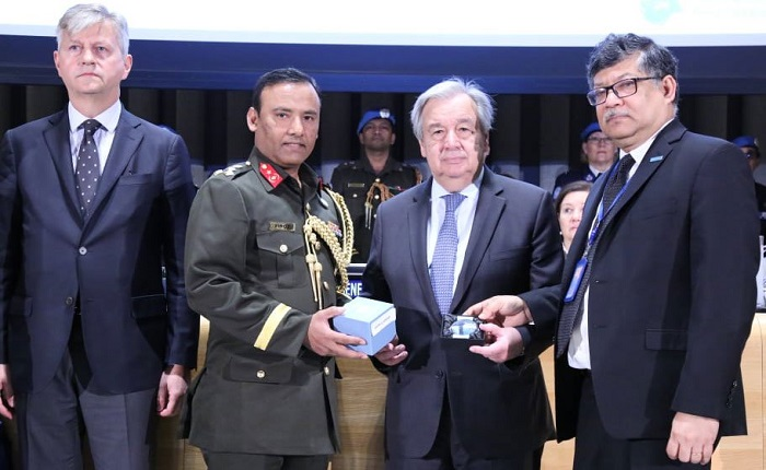 UN honors 12 fallen peacekeepers from Bangladesh