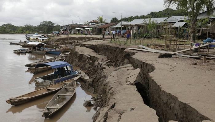 Magnitude 8 earthquake strikes Amazon jungle in Peru