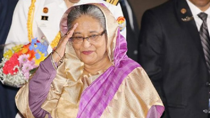 PM Hasina to leave home for tri-nation tour Tuesday