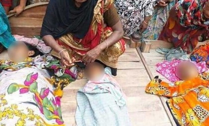 Mother commits suicide after poisoning two children in Jashore