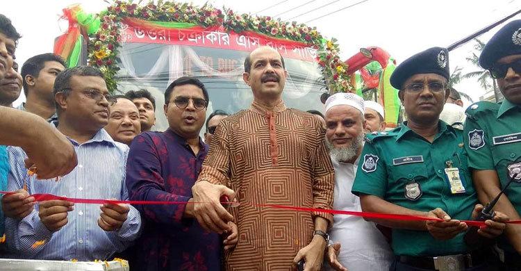 Uttara circular bus service begins