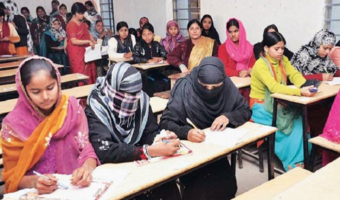 Ears-covered candidates not allowed in exam halls