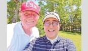 Trump, Abe's diplomacy over golf, sumo