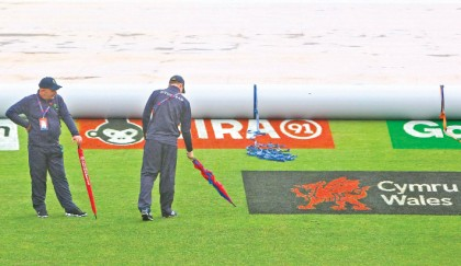 Rain ruins Tigers' warm-up