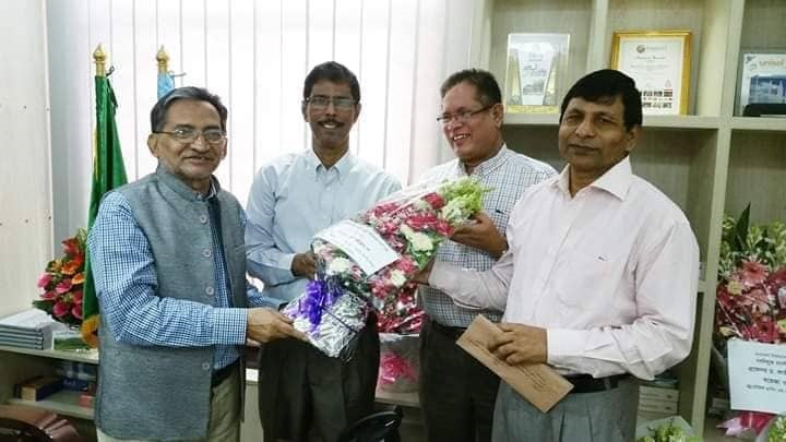 BSFMSTU VC congratulates UGC Chairman