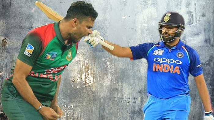 Wary Indians against Buoyant Bangladeshis