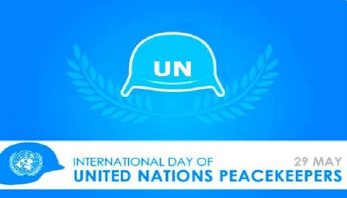 International Day of UN Peacekeepers Wednesday