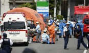 Man stabs kids at Japan bus stop; at least 19 people wounded