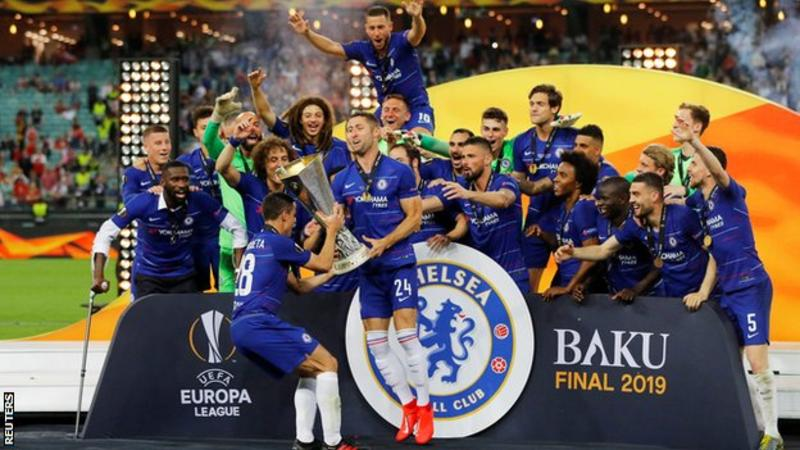 Chelsea beat Arsenal to win Europa League