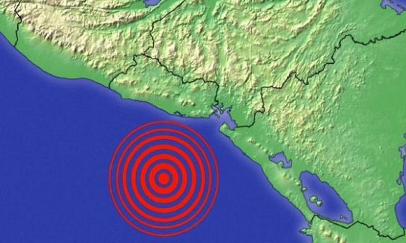 Strong earthquake hits off coast of El Salvador