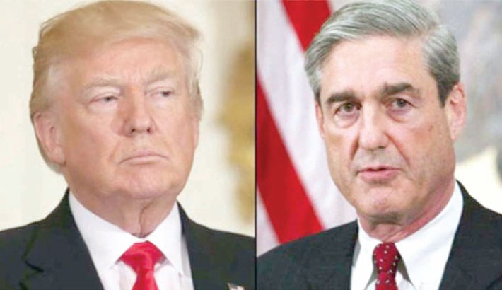 Mueller denies probe cleared Trump passing baton to Congress