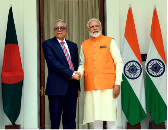 Bangladesh waiting to see Teesta issue resolved: President Hamid to Modi