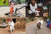 Sarangi: A member of Modi's new cabinet who rides bicycle, lives in hut