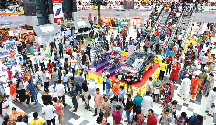 Eid shopping reaches its peak