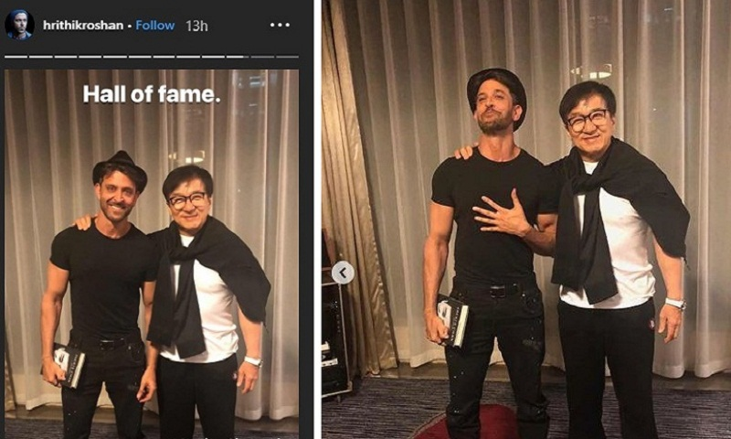 Hrithik Roshan on meeting Jackie Chan: It was an incredible experience