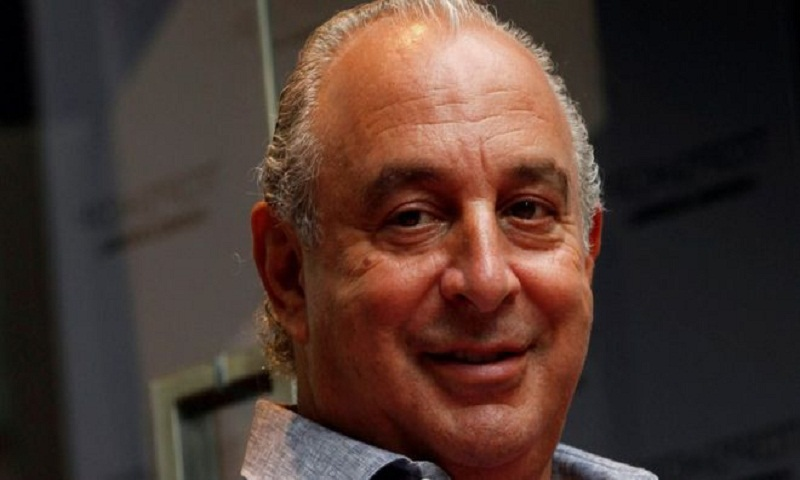 Sir Philip Green charged with misdemeanour assault in US