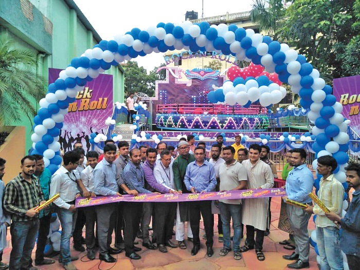 Inauguration of new rides at Fantasy Kingdom for Eid ul Fitr