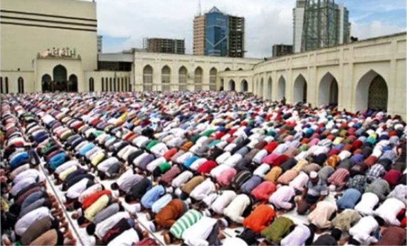 Eid-ul-Fitr celebrated in Bangladesh