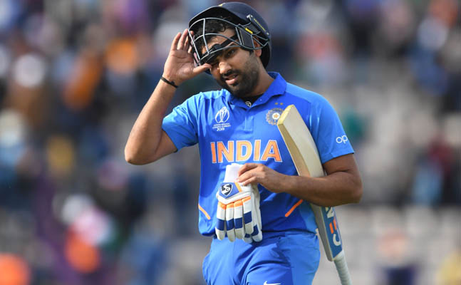 Rohit Sharma ton guides India to opening World Cup win