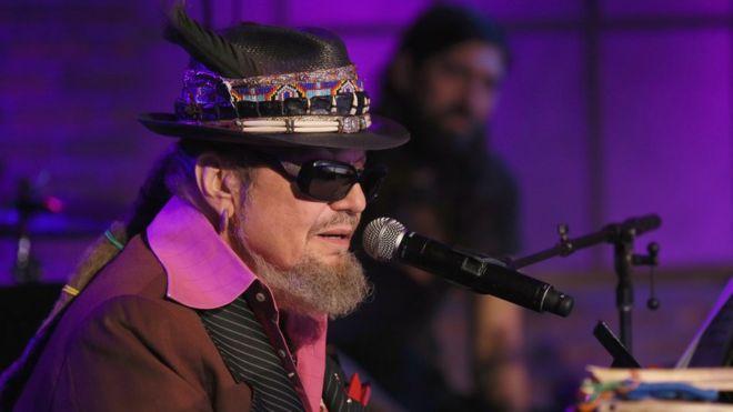 Grammy-winning musician Dr John dies