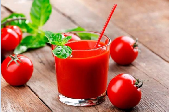 Unsalted tomato juice can reduce high BP and cholesterol