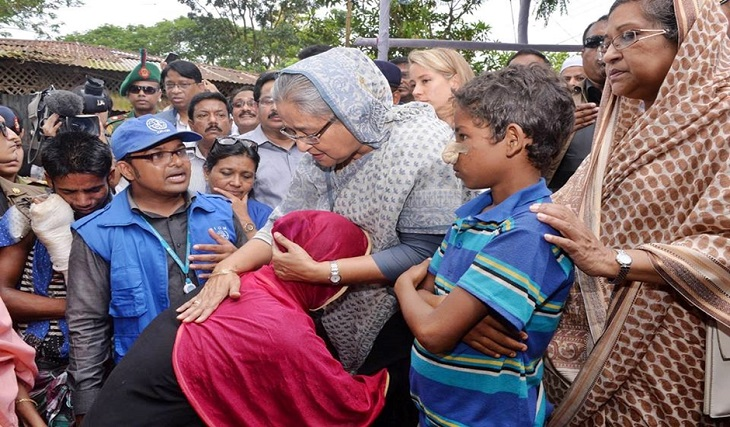 Sheikh Hasina's Campaign for Rohingya Issue