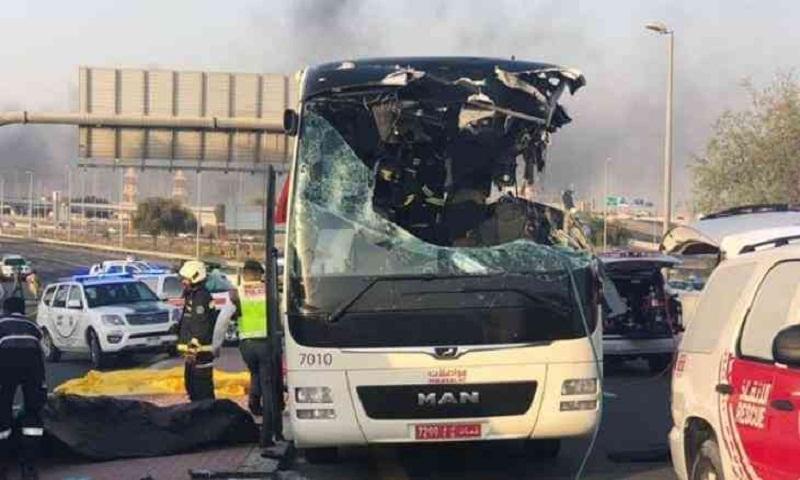 Dubai bus crash: 11 Indian victims' bodies flown home, one cremated in UAE