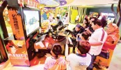 Bashundhara City theme park thrills youngsters