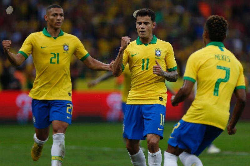 Brazil routs Honduras 7-0 in Copa tuneup