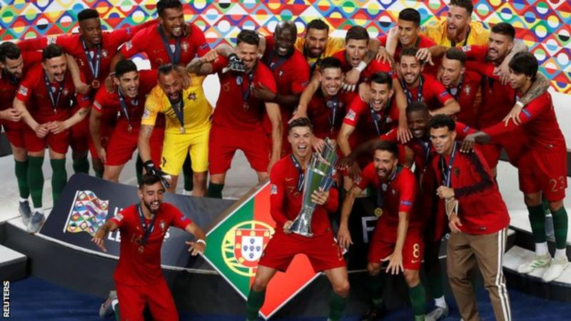 Portugal beat Netherlands to win inaugural Nations League