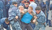 Hundreds detained as Kazakhs vote for first new leader in decades