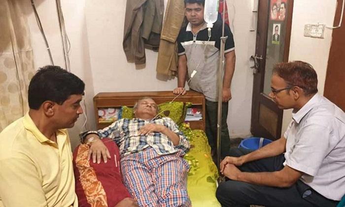 Rizvi falls sick suddenly in party office