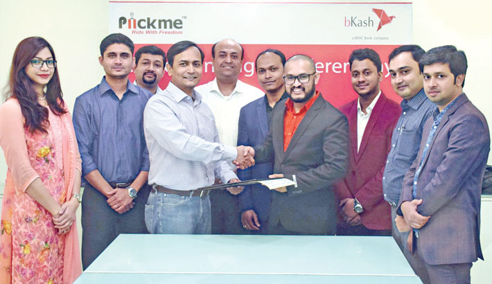 bKash payment  now available for Piickme services