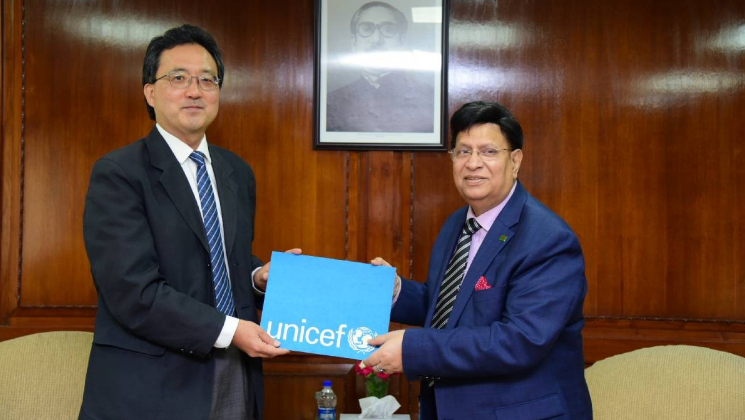 Unicef lauds Bangladesh's achievements in child education