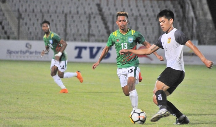 Bangladesh through to World Cup qualifiers after goalless draw against Laos