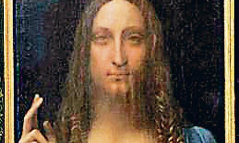 "World's most costly painting ""Salvator Mundi"" on Saudi prince's yacht"