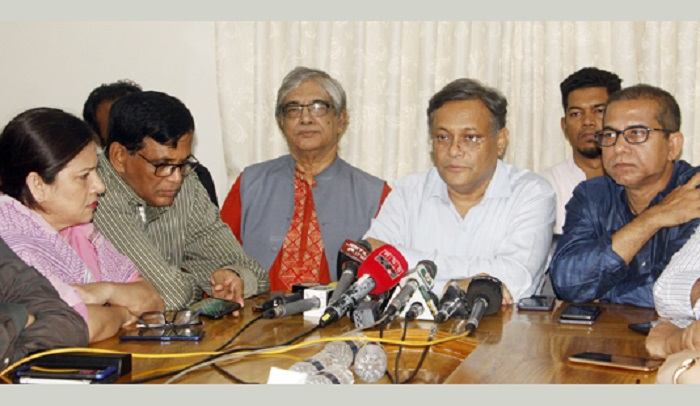 Democracy was freed with release of Sheikh Hasina: Hasan Mahmud