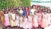 Bobita celebrates Eid with underprivileged children