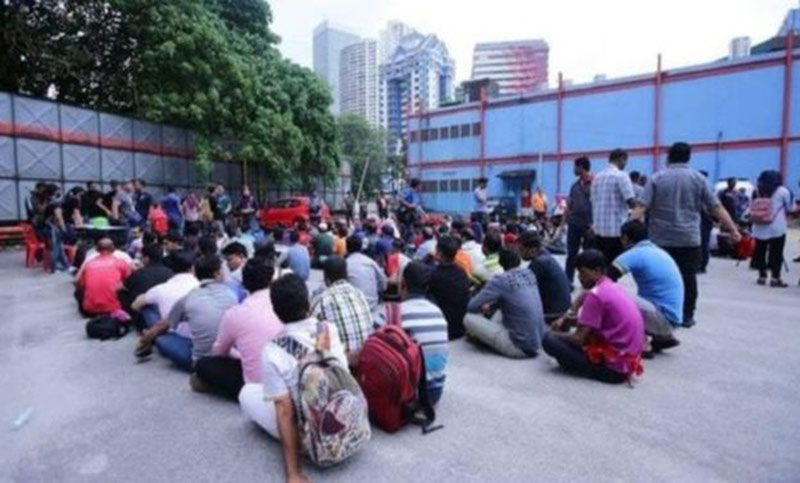 5,272 Bangladeshi workers held in Malaysia