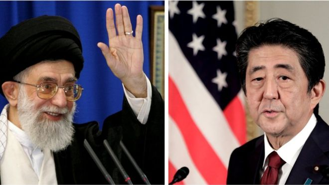 Japan's Shinzo Abe heads to Tehran amid US-Iran tensions