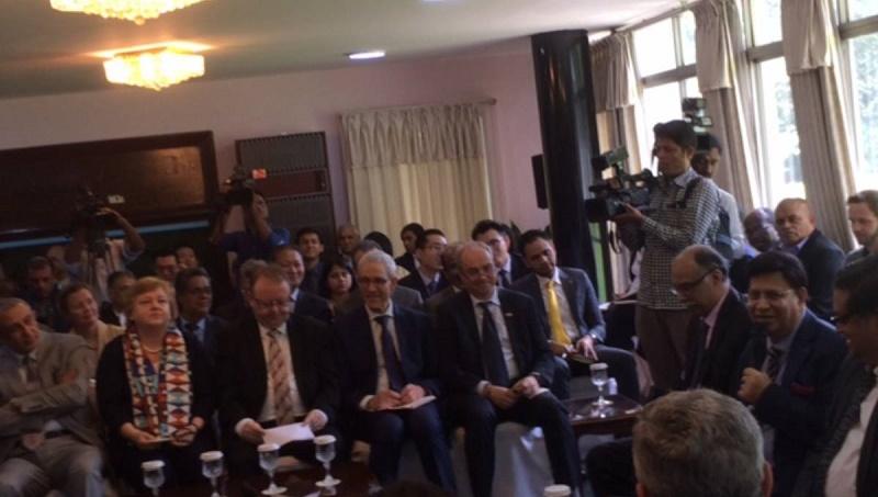 Mount pressure on Myanmar: Bangladesh to diplomats