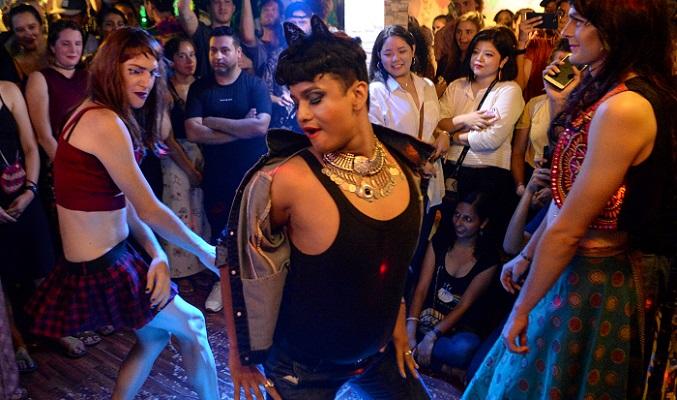 Artists light up Nepal's first drag show