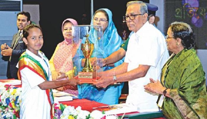 President to distribute nat'l award for children today