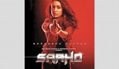 Saaho poster: Shraddha is in a daring action of avatar