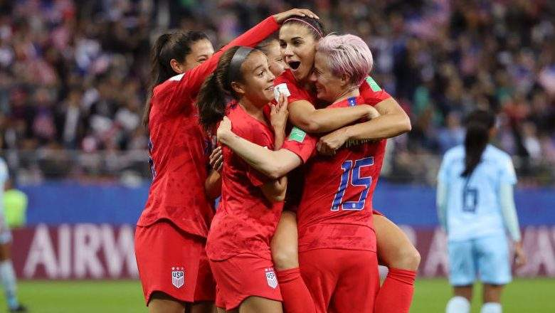 United States claim biggest ever Women's World Cup win