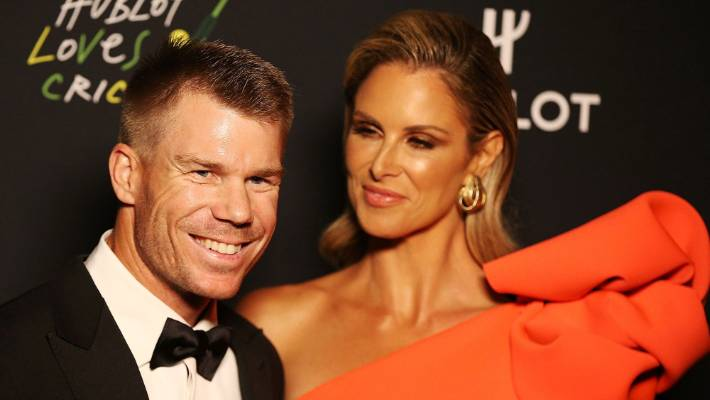Australia's Warner says wife is 'my rock' after World Cup hundred