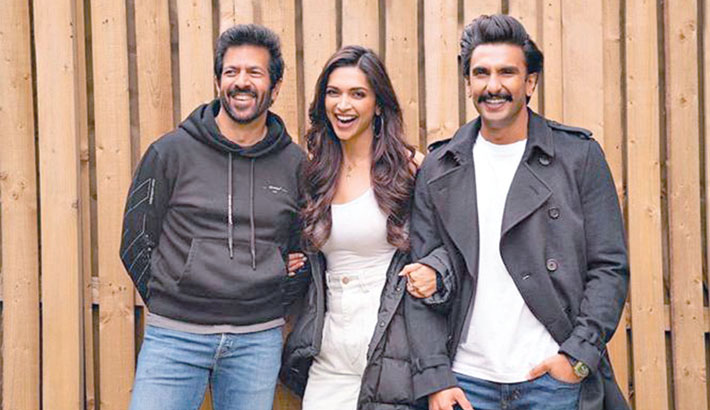 Deepika starts shooting for '83 with Ranveer in London
